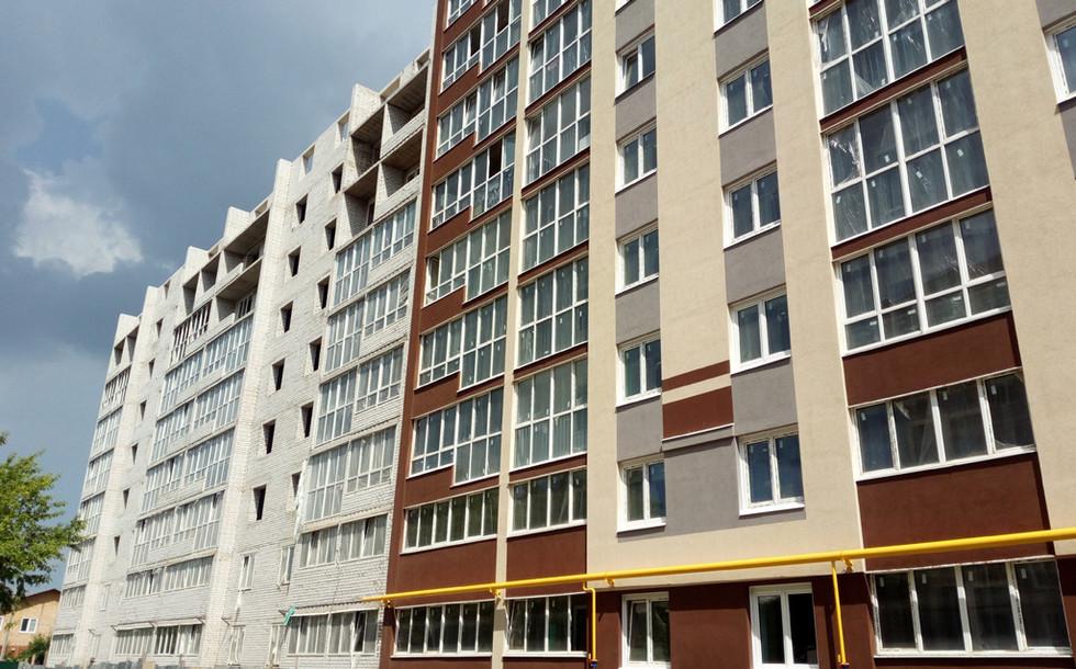 Вид на фасад с улицы