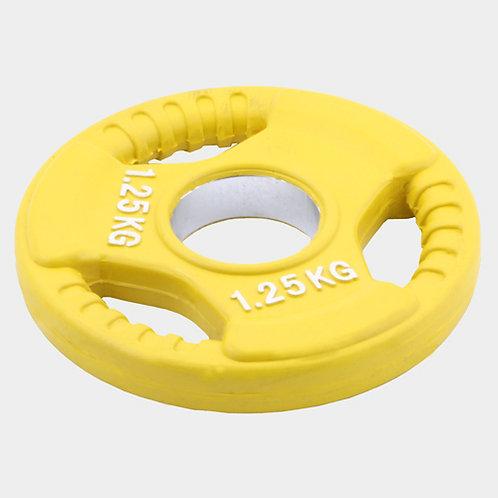 Олимпийский диск евро-классик--с тройным хватом 1.25 кг.