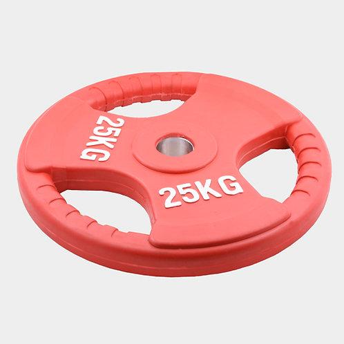 Олимпийский диск евро-классик--с тройным хватом 25 кг.