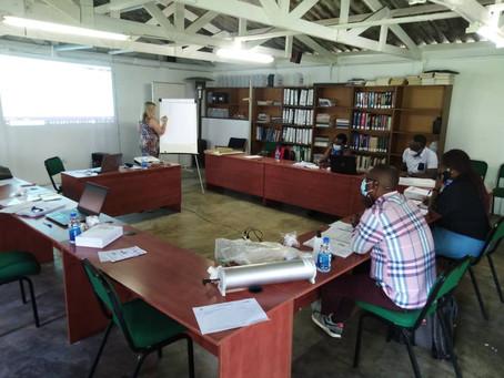 ERASE-TB preparing to recruit with a week of intense training.