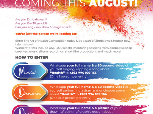 The Art Of Health National Competition 2021 takes off!