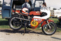 Ray's hand built Unity B50 Racer