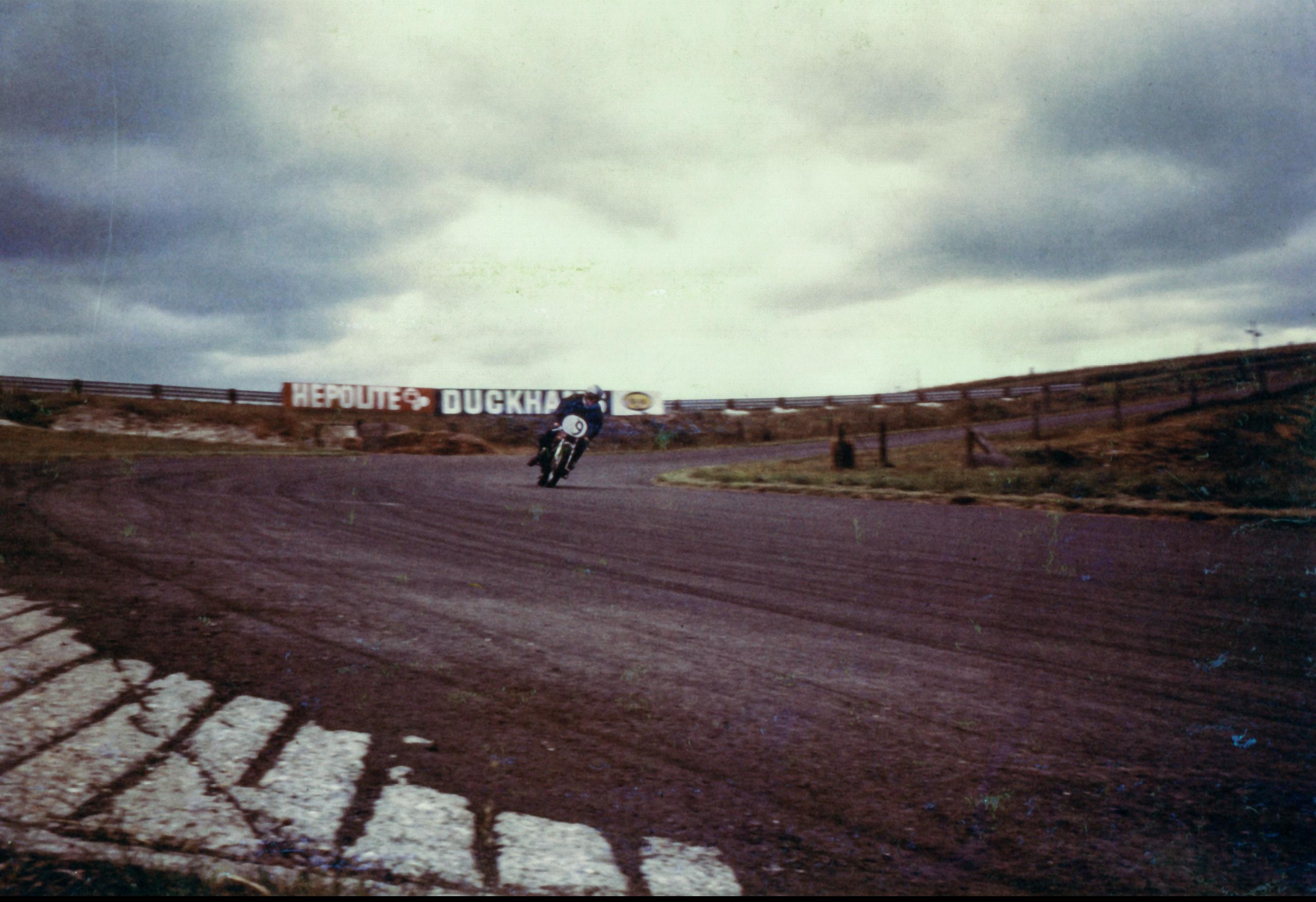 Pete Bridgestone Racer Cadwell Park