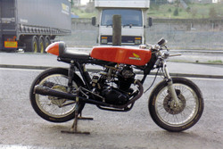 One of Ray's Gawthorpe Honda