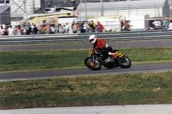 Ray on Ted Hubbard's B50 at Daytona