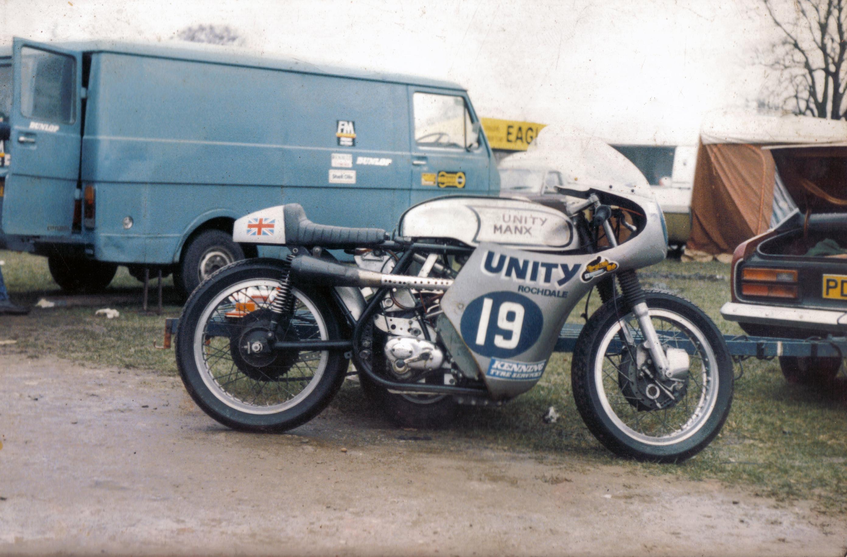 Ray's 350cc Unity/Tickle Manx