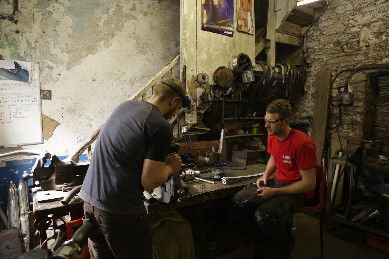 Ben and Tommy Workshop