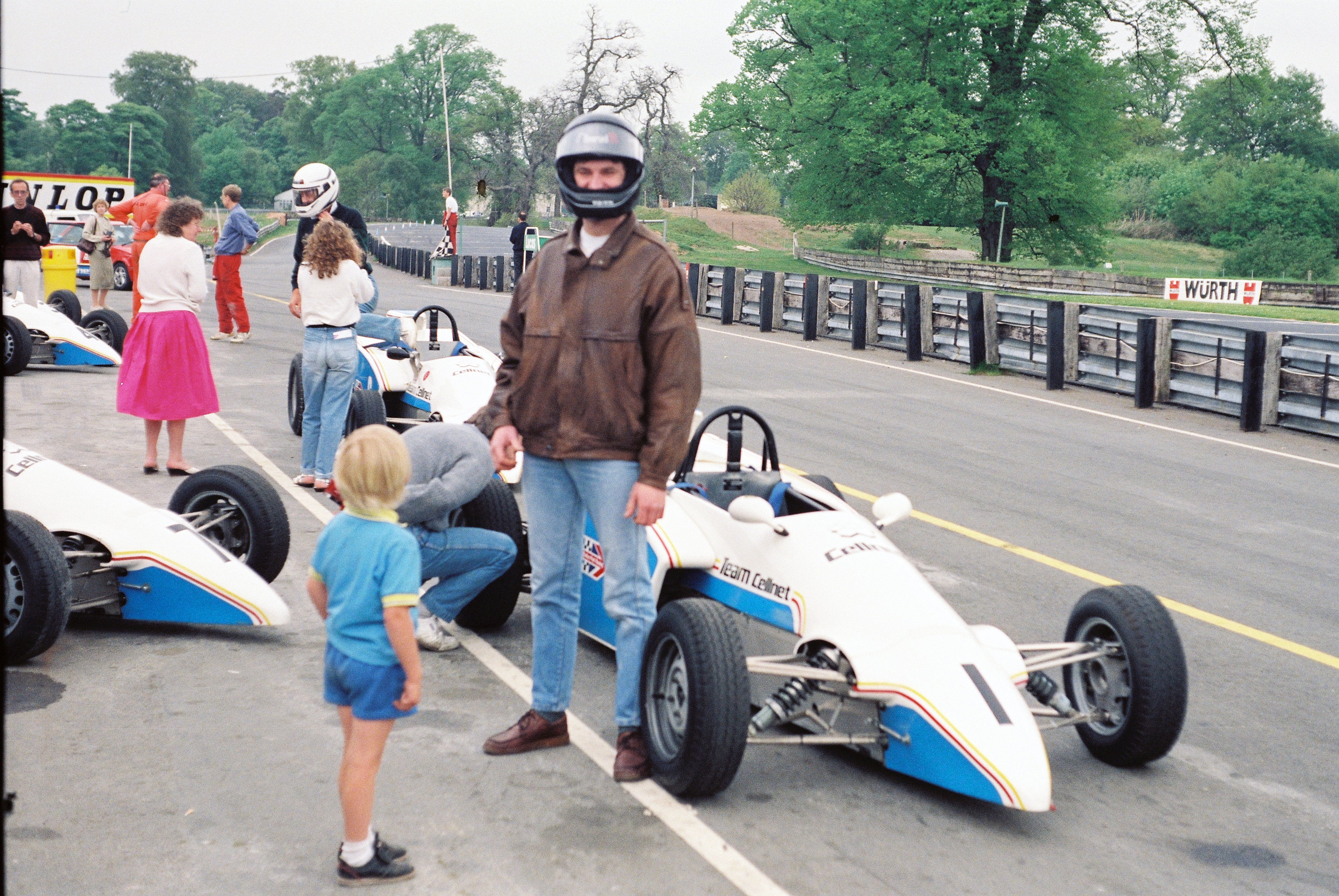 Ben And Ray Oulton Park 1990