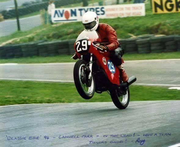 Ray Gawthorpe Honda K4 Cadwell