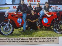 Hosey #29 Ray #11 Gawthorpe Hondas