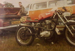 Rays B50 and Tickle Manx at the back