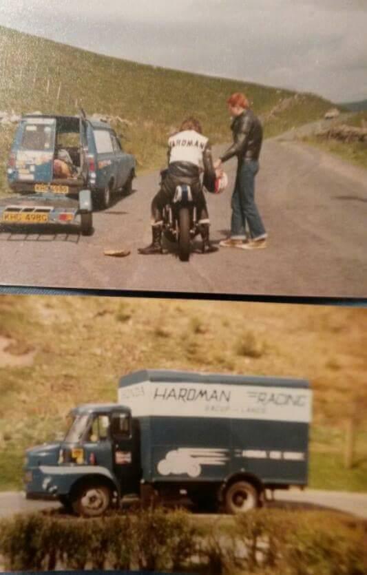 Ray Illegal testing, Hardman Racing