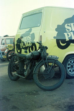 Ray's Rudge, Sponsored by Sids Place