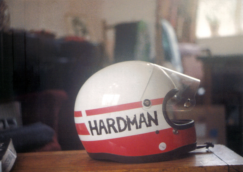 One of Rays Helmets