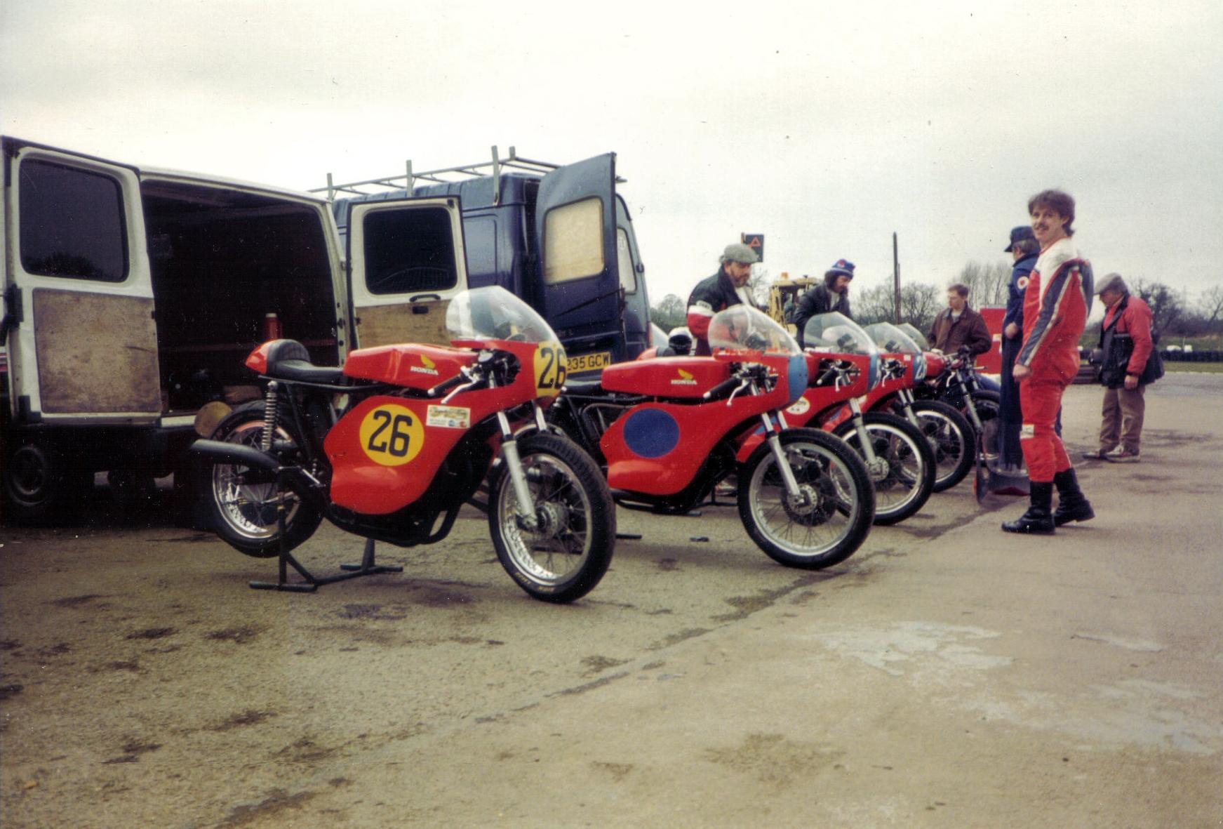 The Gawthorpe Honda team, Early 90's