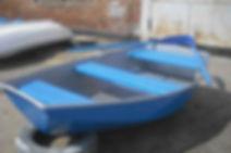 Лодка гребная стеклопластикова