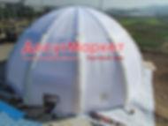 Мобильный  надувной шатер