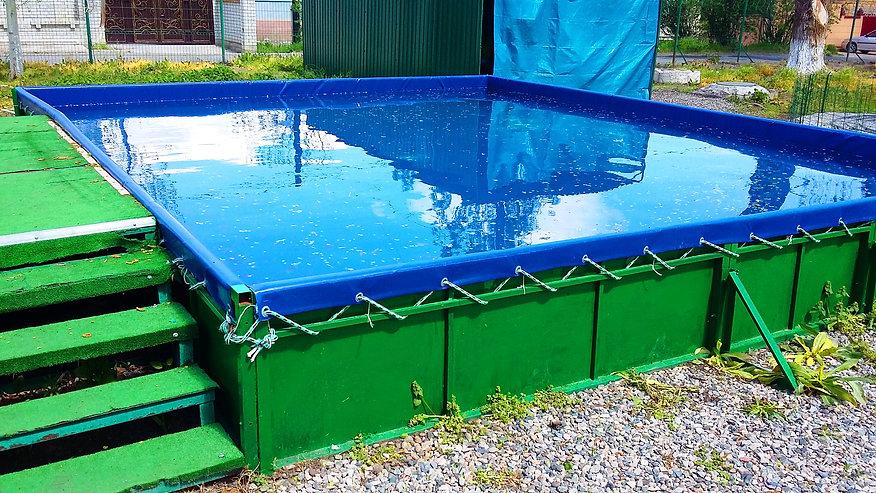 Каркасный бассейн строительство купить