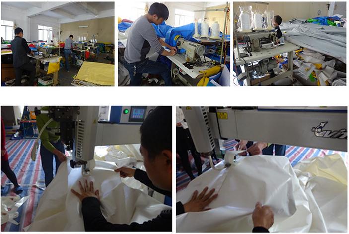Производство надувных ангаров
