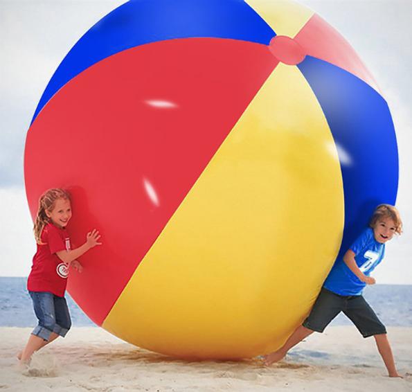 Гигантский надувной мяч для игры в волей