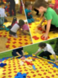 Мягкое пазл-покрытие для детских игровых