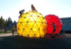 Сферическая детская игровая площадка -ск