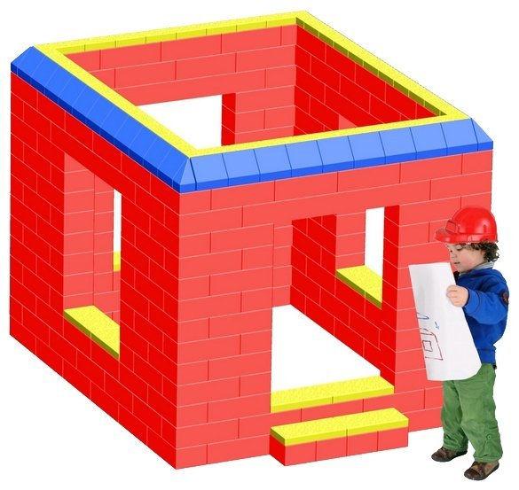 Гигантский конструктор лего крупный блок купит