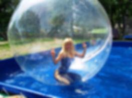 Каркасный бассейн с шарами