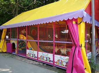 Детский уличный игровой лабиринт