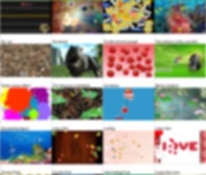 Интерактивные игры проектор