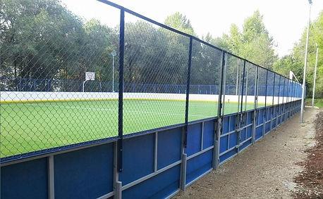 Хоккейный корт стеклопластик