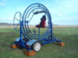 Аттракцион Гироскоп Одноместный на прицепе