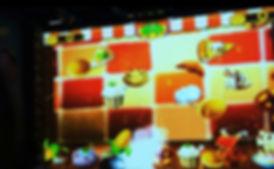 Стреляние шариками интерактивная стена
