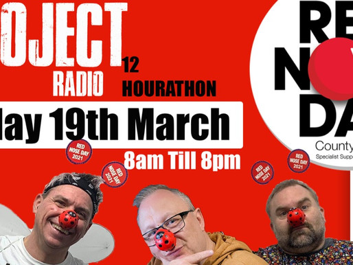County Care's Red Nose Day fundraiser 🔴
