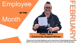 Congratulations to Paula & Katie - February's employees of the month!