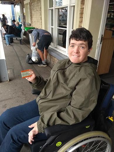 Josh Travel Training - London Aquarium 0