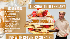 Come and make pancakes with us on pancake day!