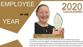 County Care's Employee of the Year 2020!
