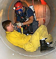 Confined Space Rescue medical team