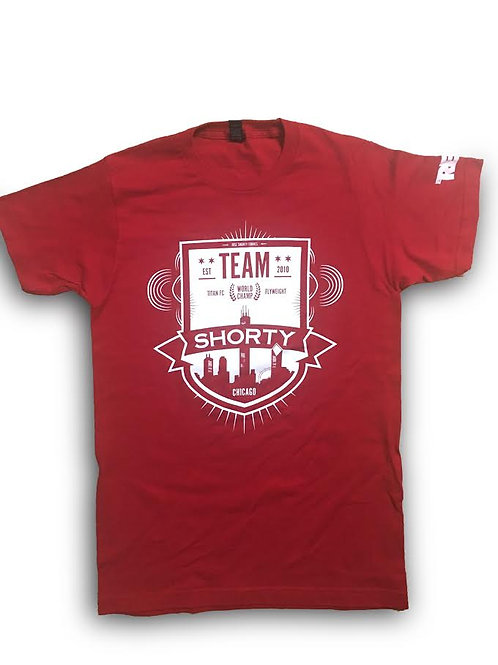 RED TEAM SHORTY TEE