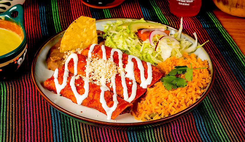 Food - Taco Bros - Enchiladas - Website