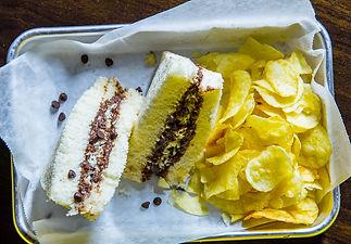Eggoholic - Chocolate Cheese Sandwich -