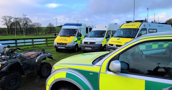 Safe Hands Ambulance Fleet