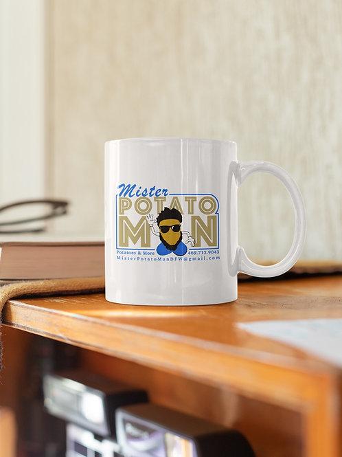 White Coffee Mug with handle