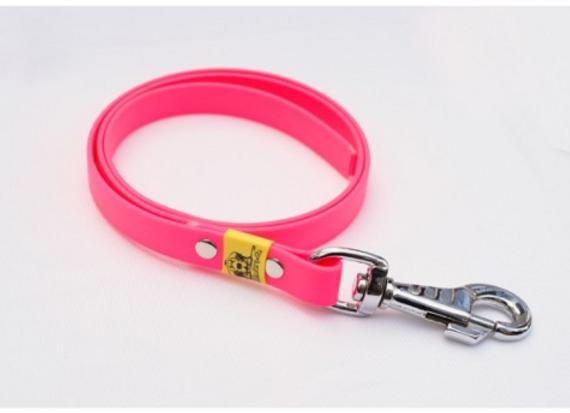 BioThane Leine pink ohne Handschlaufe 16mm 5m