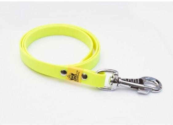 BioThane Leine neon gelb ohne Handschlaufe 16mm 5m