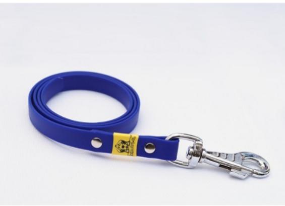 BioThane Leine blau ohne Handschlaufe 16mm 5m