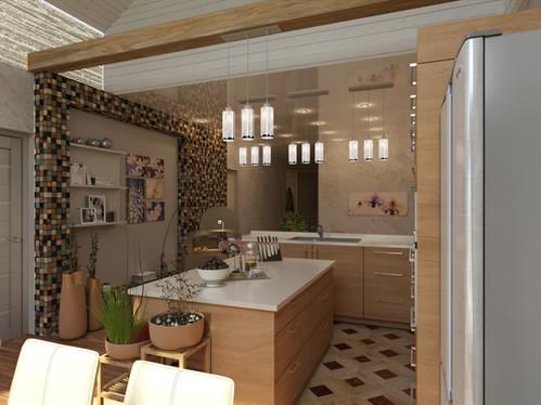 Кухня в студии