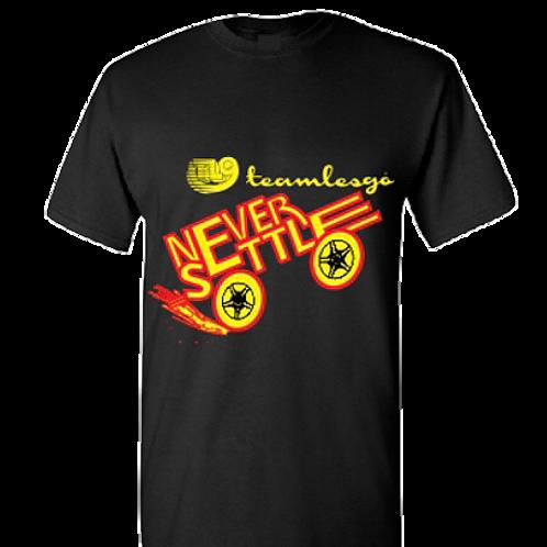 Team Les Go NEVER SETTLE T-Shirt