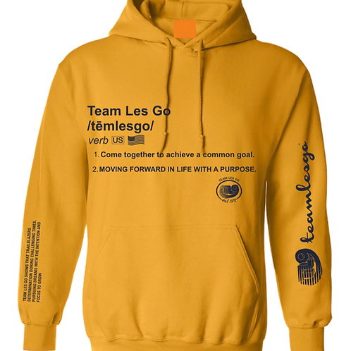 Team Les Go Definition Hoodie